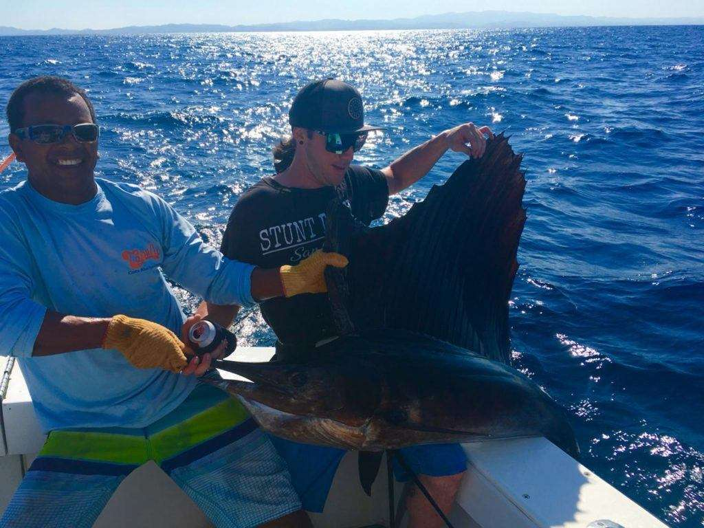 Capullo Tamarindo full day charter sailfish