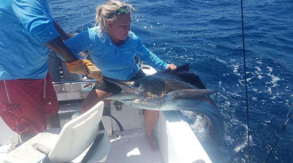 Rainbow Runner Tamarindo full day charter sailfish