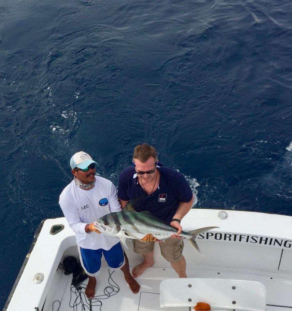 Talking Fish Tamarindo full day charter roosterfish