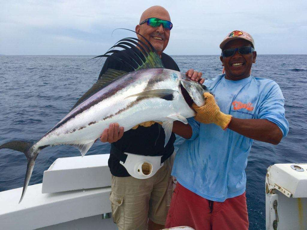 Capullo Tamarindo half day charter roosterfish