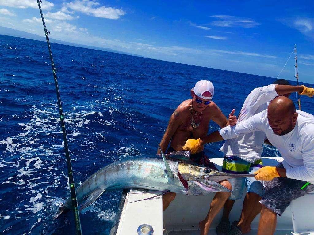 Capullo Tamarindo half day charter blue marlin