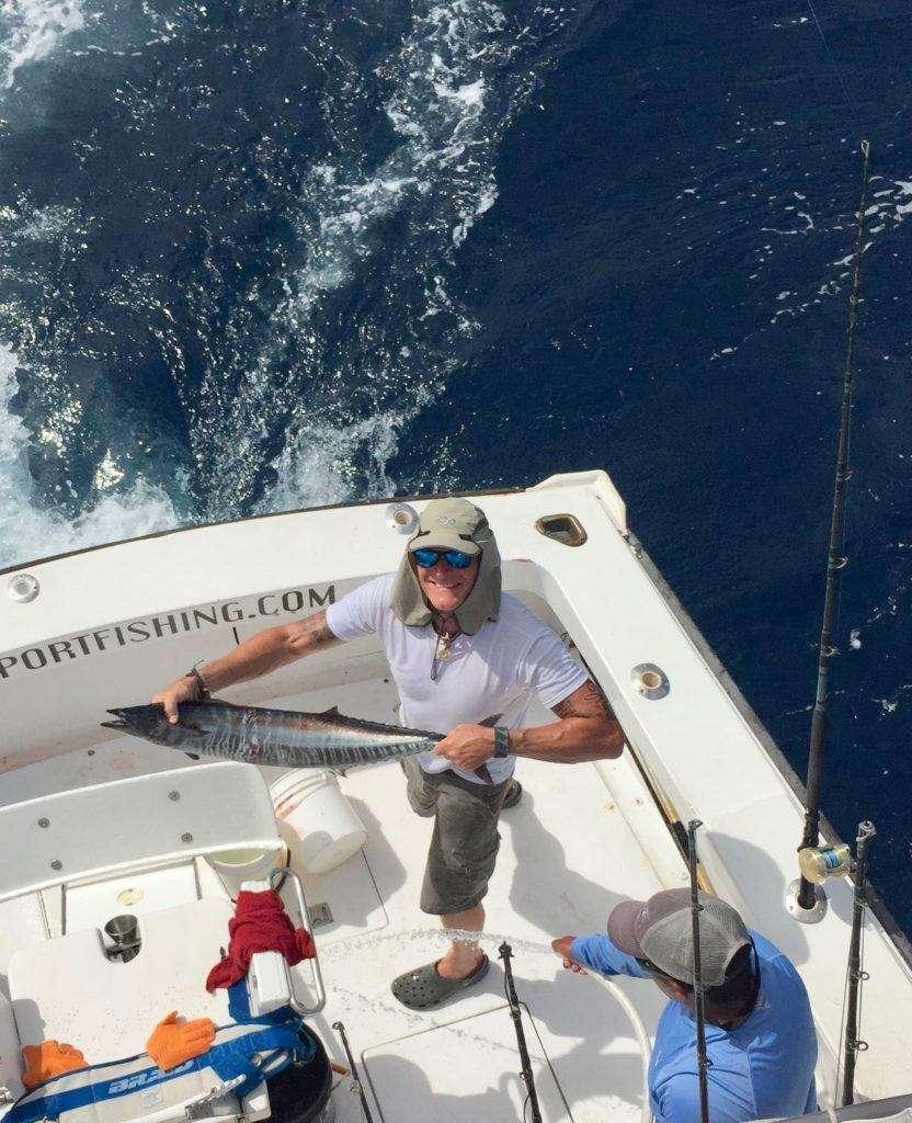 Talking Fish Tamarindo half day charter wahoo