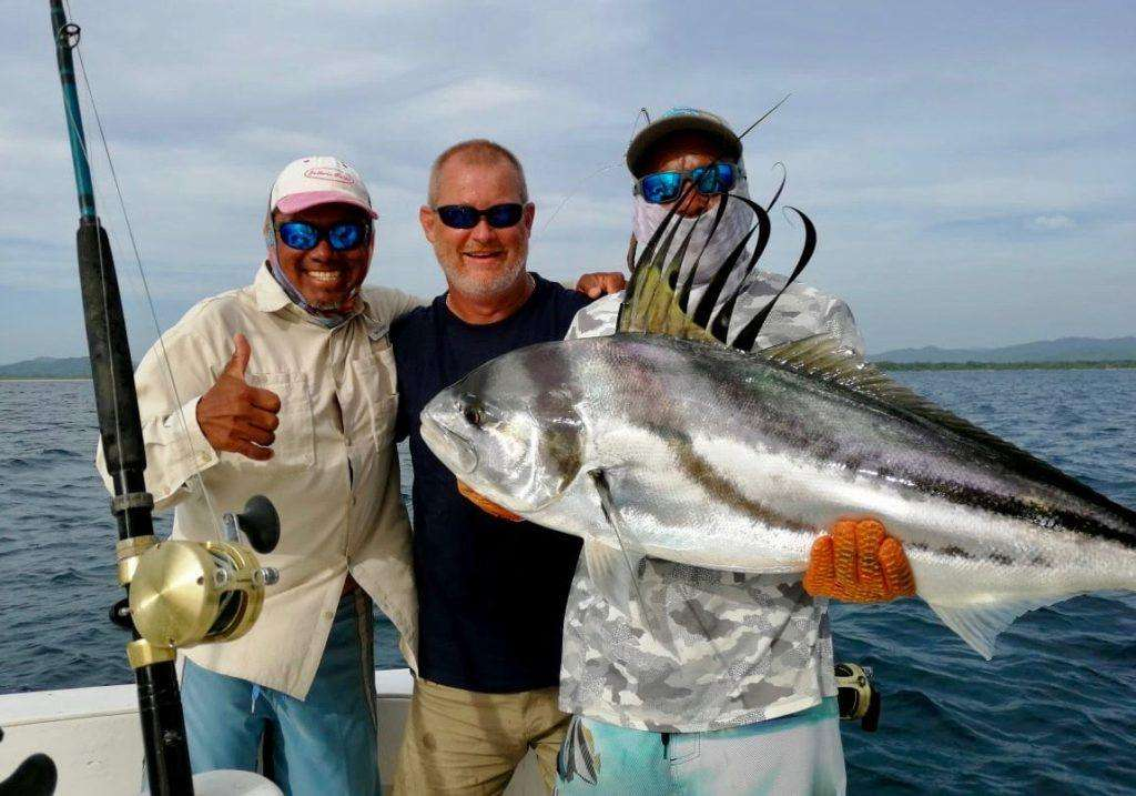 Outcast Tamarindo full day charter cubera roosterfish