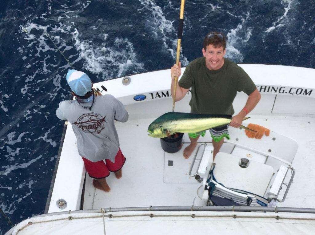 Talking Fish Tamarindo full day charter dorado