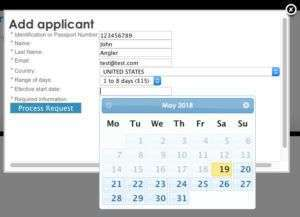 Costa Rica sportfishing license purchase form image