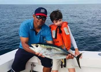Talking Fish Tamarindo fishing charter tuna