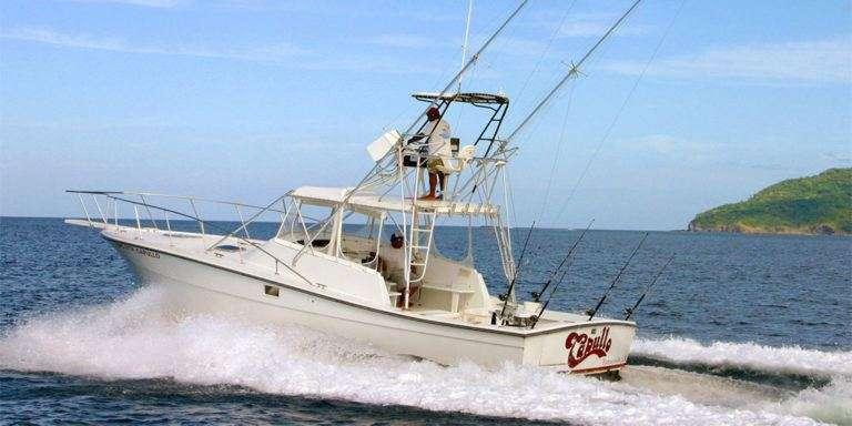 Capullo 36' Topaz Tamarindo charter boat