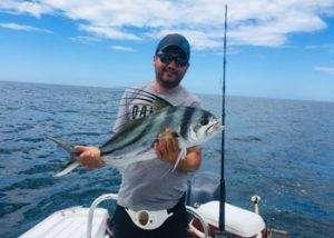 Rainbow Runner Tamarindo half day charter roosterfish