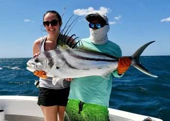 Outcast Tamarindo half day charter roosterfish