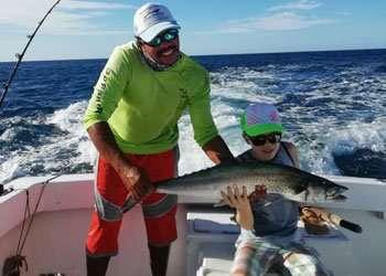 Salsa Tamarindo half day charter sierra mackerel