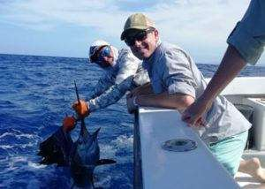 Salsa Tamarindo full day charter sailfish