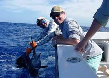 Salsa Tamarindo full day charter sailfish