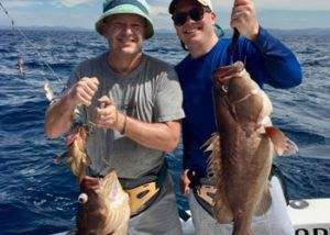 Talking Fish Tamarindo half day charter grouper
