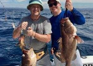 Talking Fish Tamarindo half day charter grouper