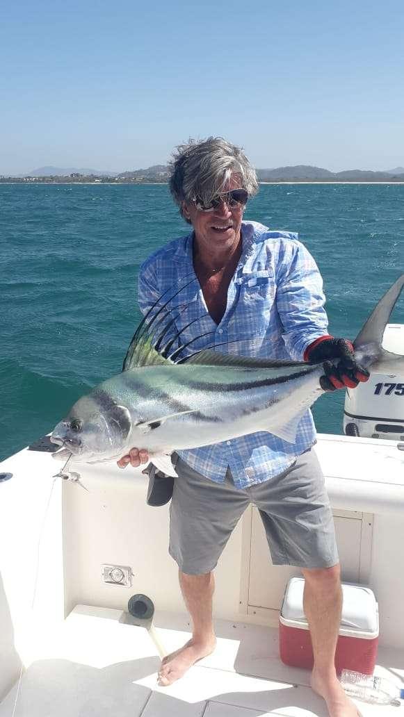4Mori Tamarindo half day charter roosterfish