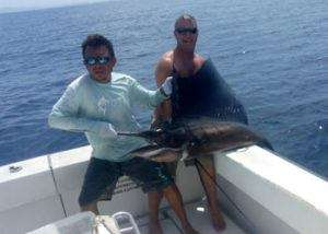 Osprey Tamarindo ¾ day charter sailfish